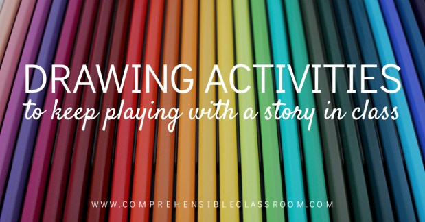 Shared a story in class and not ready to let go? Use these 3 drawing activities to keep playing with the story!