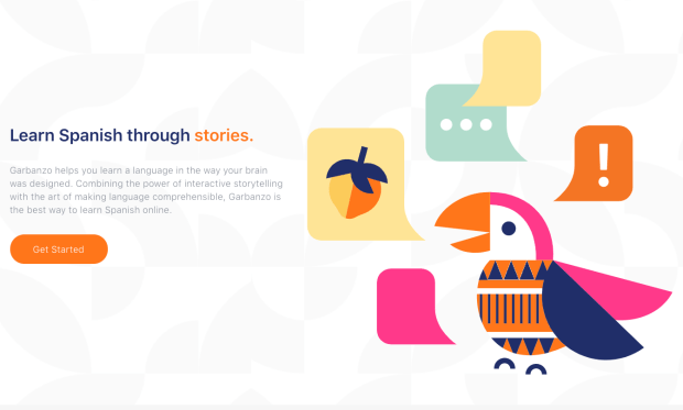 Garbanzo is the new platform for language learning, the first story-based app for Spanish learners!