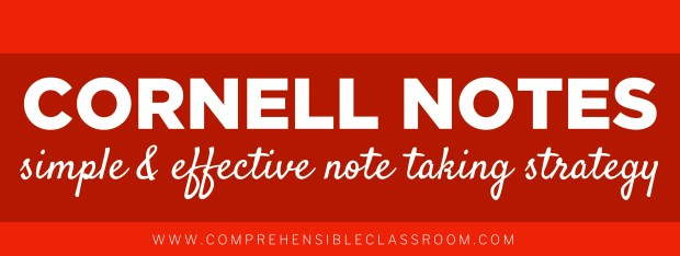 Cornell Two Column notes encourage students to revisit their learning and to use critical analysis to extract Key Concepts and develop a summary.