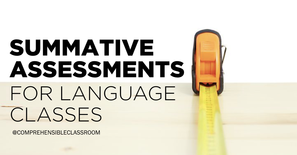 End Of Term Assessments The Comprehensible Classroom This is a purely diagnostic test. end of term assessments the