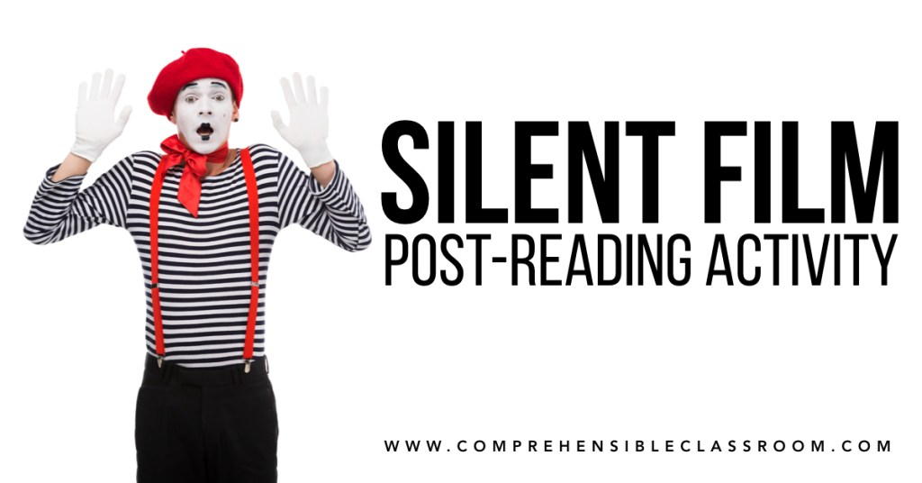 Learn how to use the Silent Film activity to boost reading comprehension and connection as your students work with a text after reading // Image  193551699 by Lightfield Studios from Adobe Stock