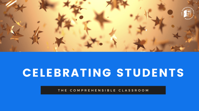 Celebrate students with award tickets and prize drawings