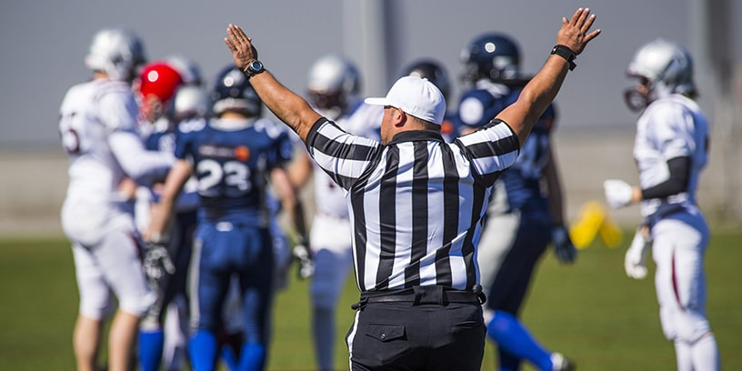 16 pénalités les plus récurrentes lors d'un match de football américain