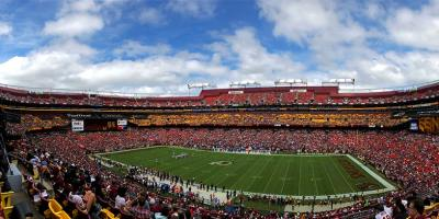 FedEx Field 10 plus grand stades de football américain