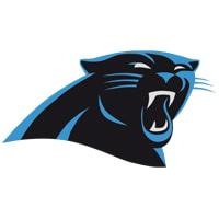 logo carolina Panthers équipe NFL