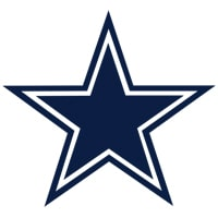 logo Dallas Cowboys équipe NFL