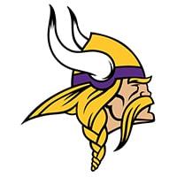 Logo Minnesota Vikings équipe NFL