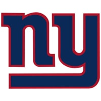 Logo New York Giants équipe NFL