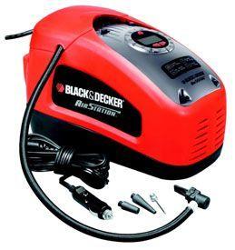 Compresor de aire portátil Black and Decker ASI300-QS. Análisis detallado