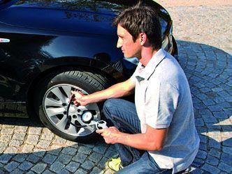 inflado de ruedas con compresor de aire Einhell TE-AC 230/24