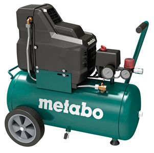 compresor 25 litros metabo basic 250