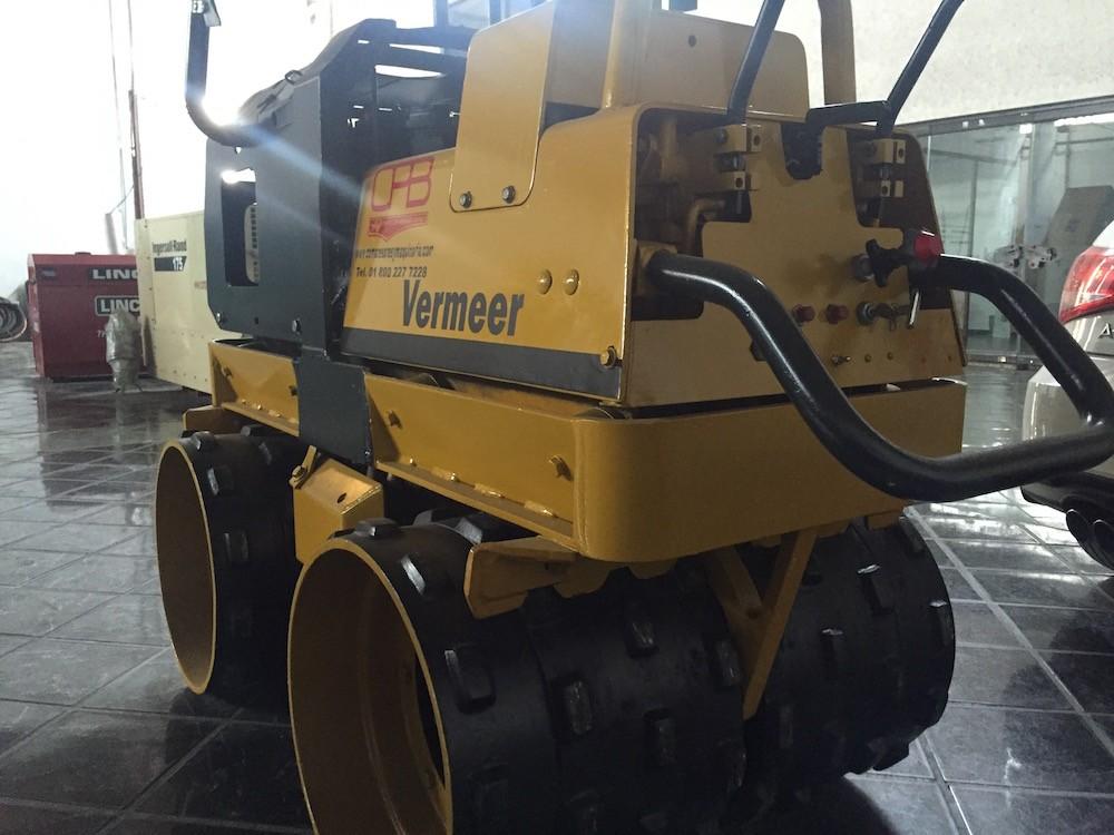 Rodillo compactador vermeer 4