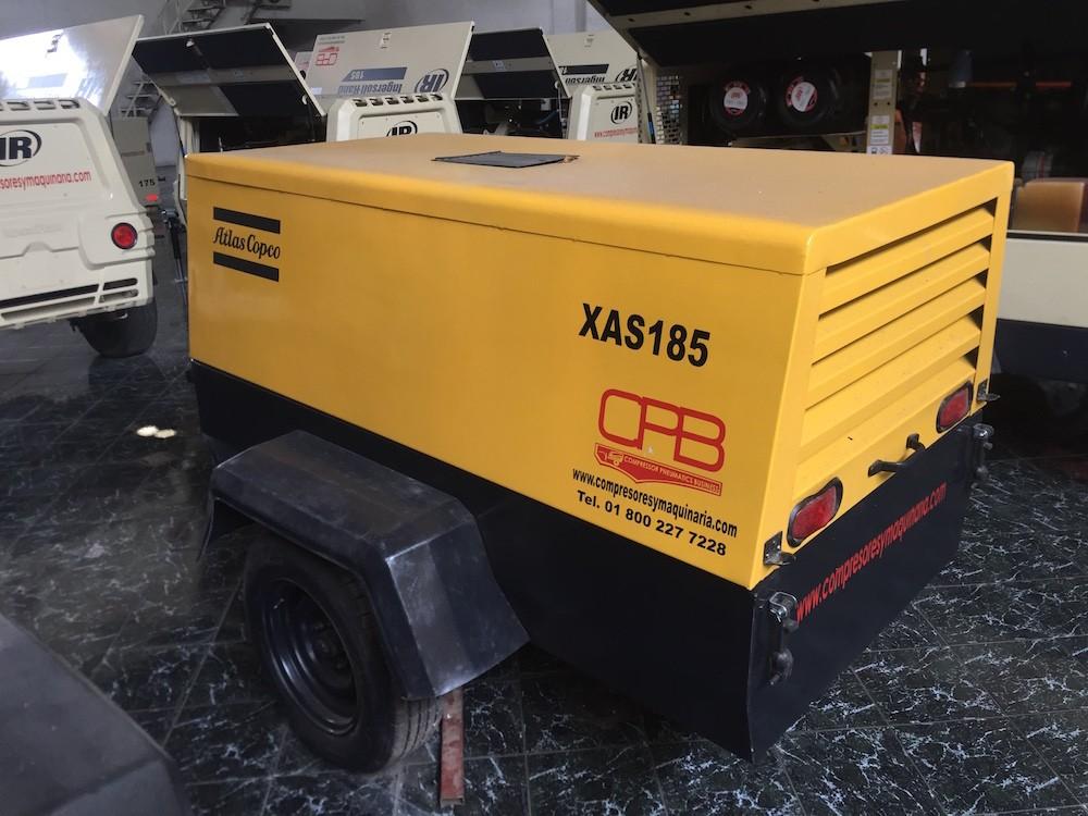 Compresores Atlas Copco 185pcm Xas 185 3