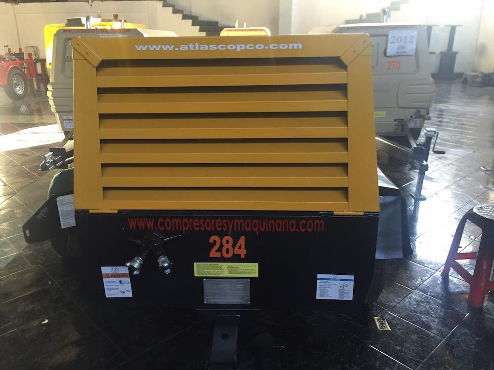 Compresores 185 pcm Atlas copco modelo XAS 97 3