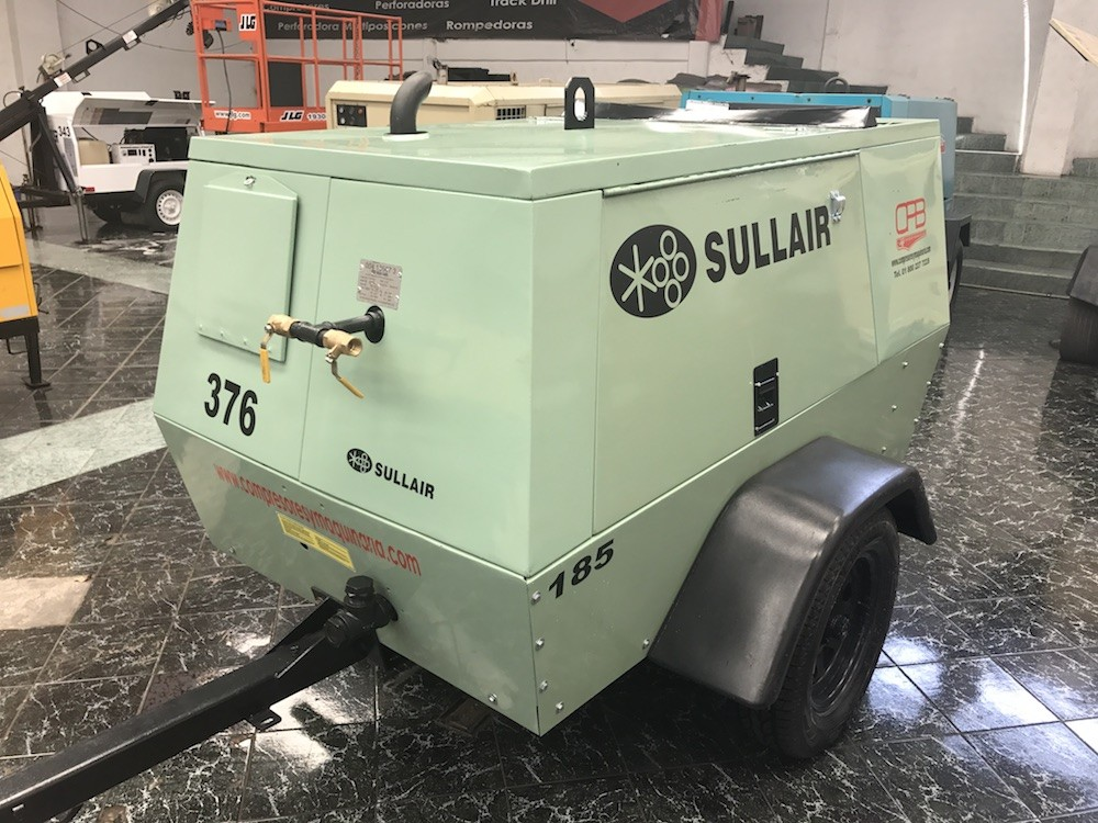 compresor sullair 185 pcm 2010 2