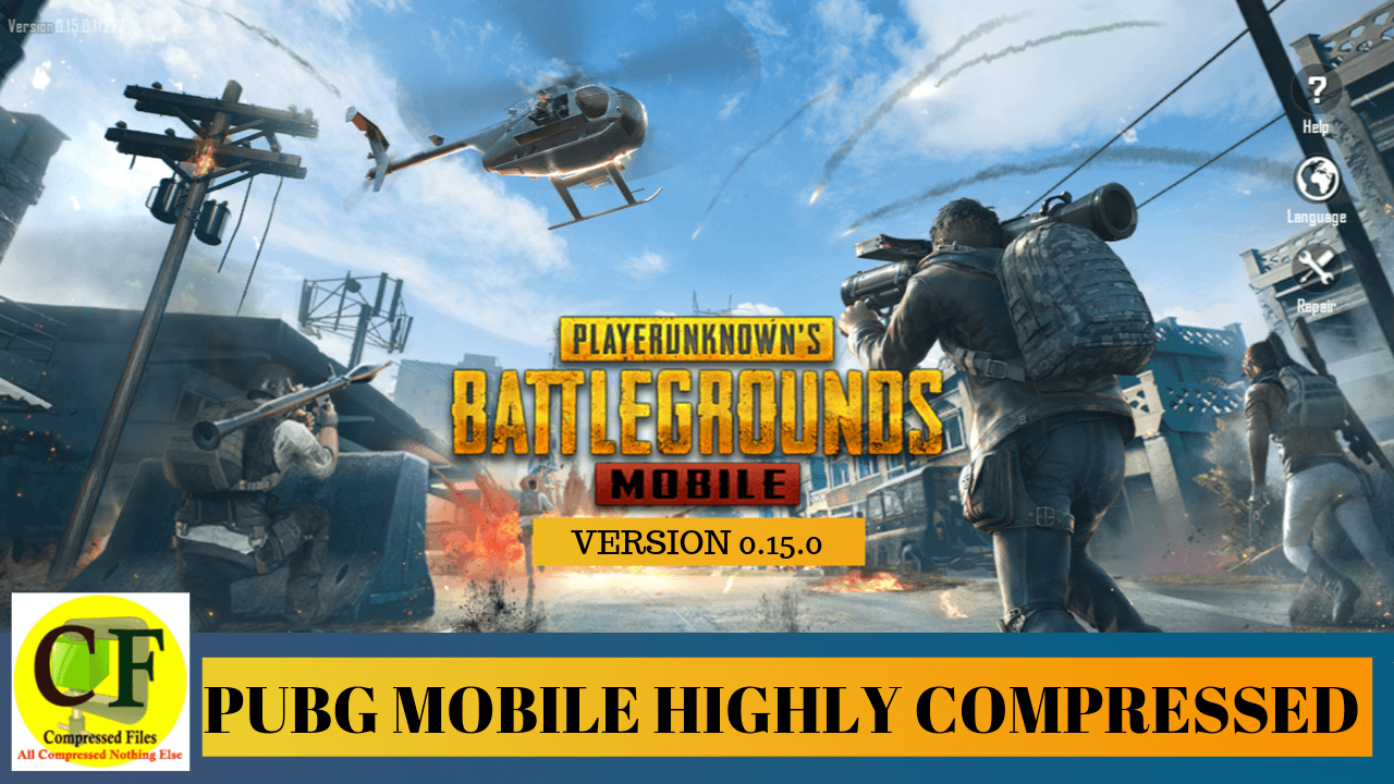 PUBG Mobile Highly Compressed 0.15.0