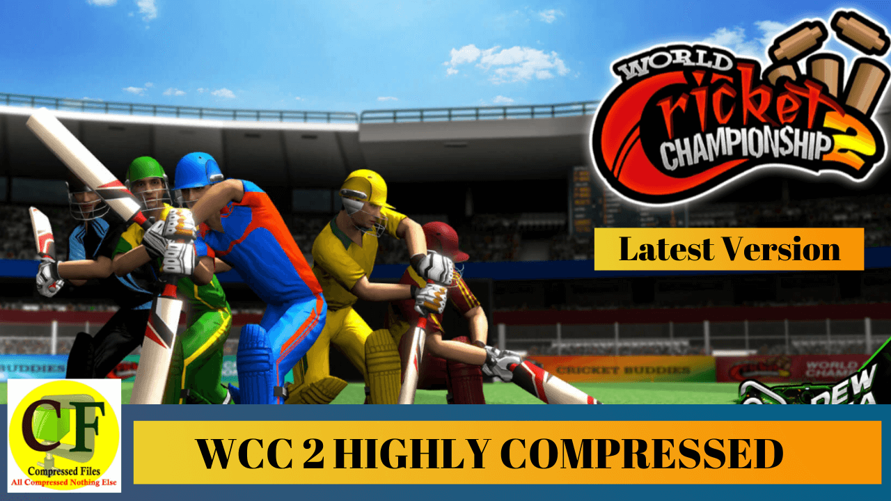 WCC2 game new version