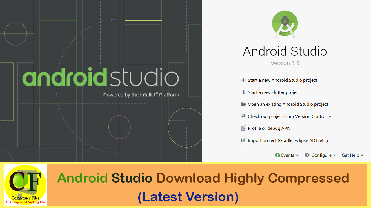 android studio download highly compressed