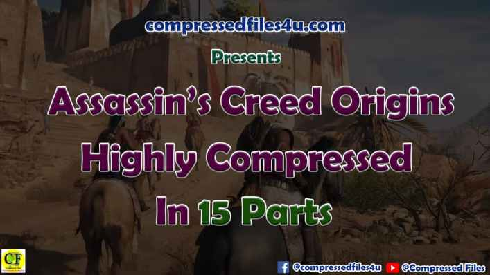 Assassin's Creed Origins PC Highly Compressed