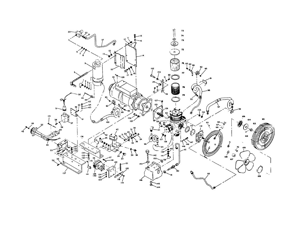 Figure 6 1 Compressor Exploded View