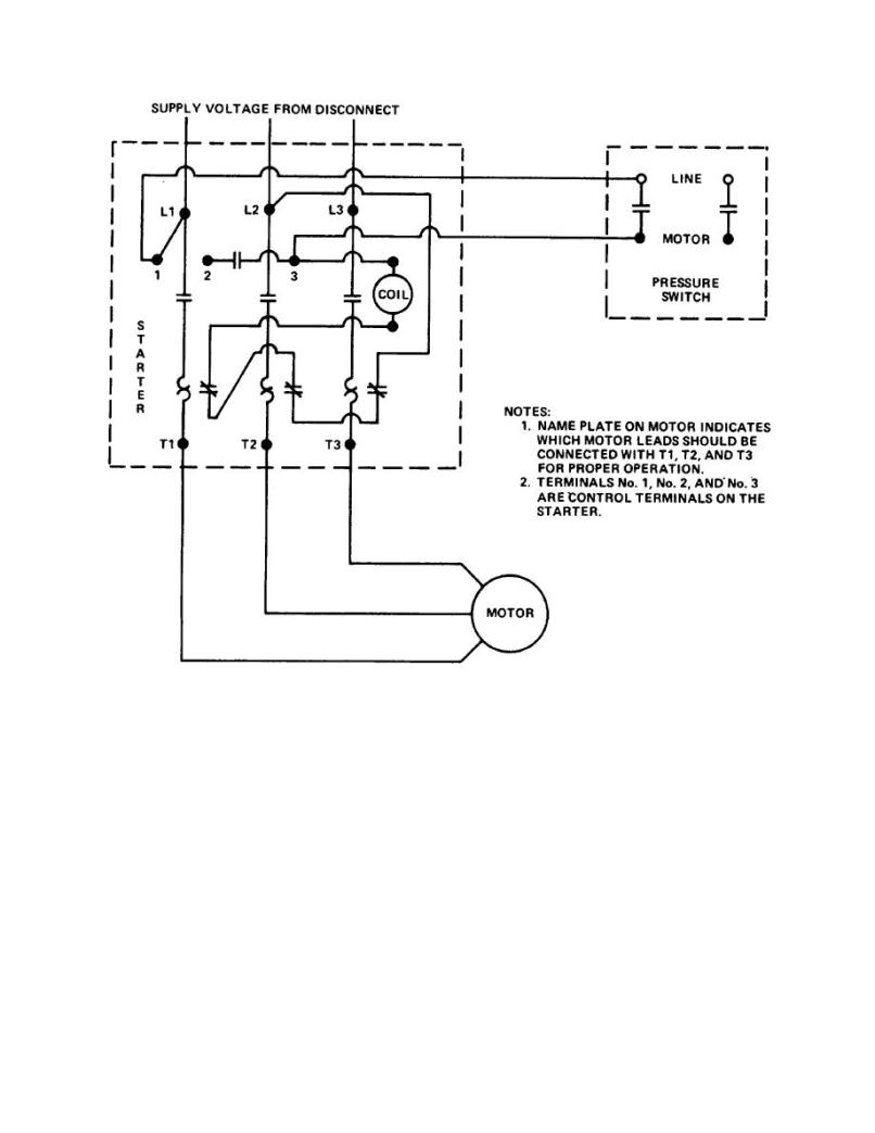 Stunning Air Compressor Starter Wiring Diagram Ideas Electrical
