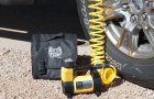 Inflate Tire using MF-1040 Cyclone High Volume Portable Air Compressor