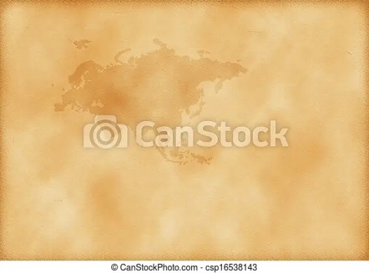 Old map of europe and asia as a background  Old map of Europe and Asia   csp16538143