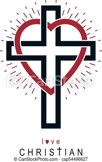 Download Love of god vector creative symbol design combined with ...