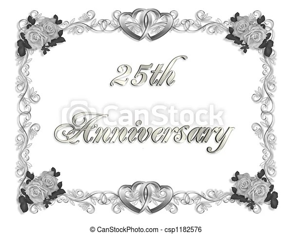 https www canstockphoto com 25th anniversary 1182576 html