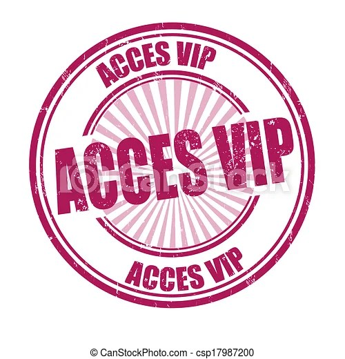 Acces Vip Stamp Acces Vip Grunge Stamp On White Vector
