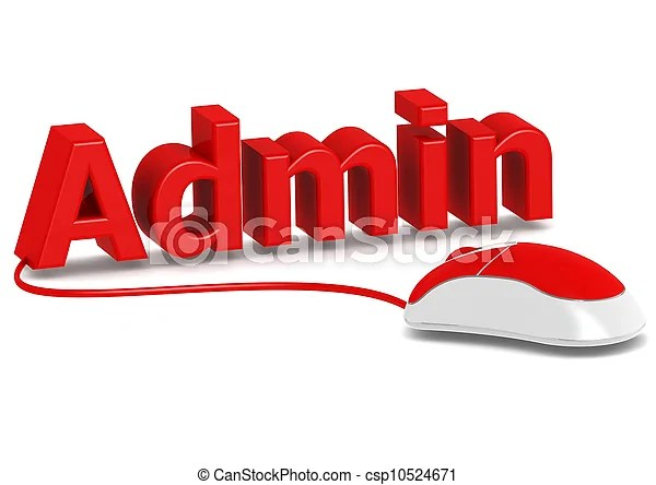 Administration And Computer Mouse Rendered Artwork With