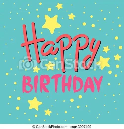 https www canstockphoto com beautiful happy birthday invitation 43097499 html