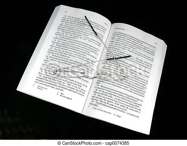 Koran And Glasses - csp0074385