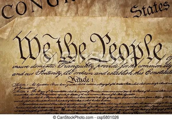 Us Constitution Free Clipart