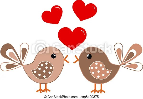 Clipart Vector Of Valentines Day Or Birthday Csp8490875