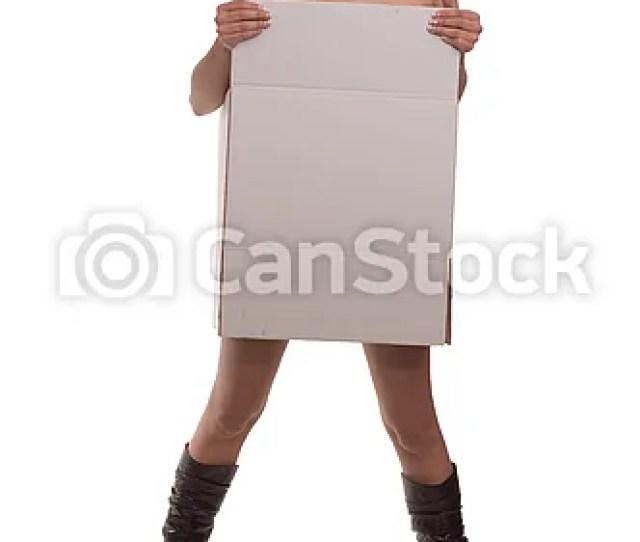 Cardboard Girl Csp0950948