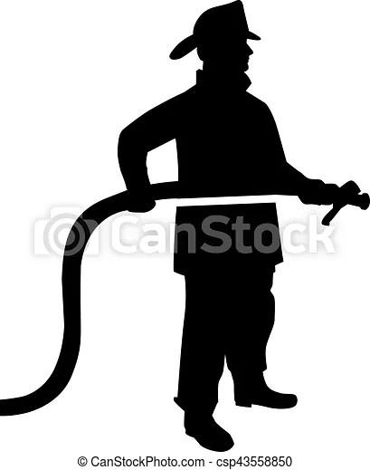 fireman silhouette clip art # 12