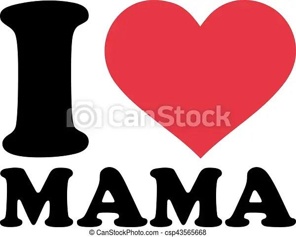 I Love Mama Csp43565668