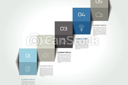 Infographic staircase step business vector design template  diagram     Infographic staircase step business vector design template  diagram  chart   timeline