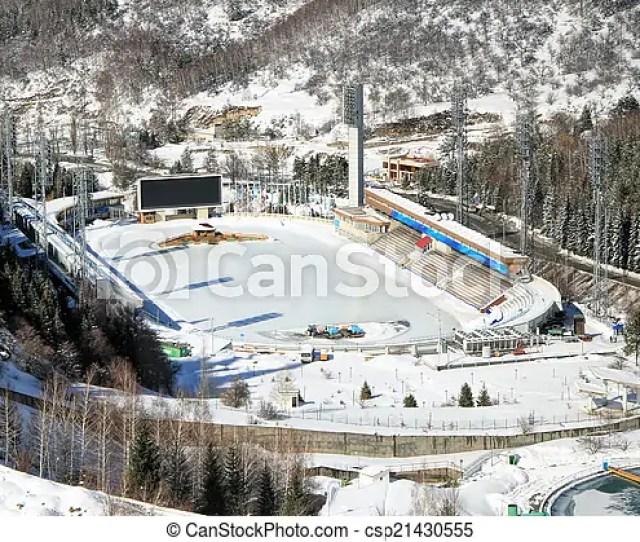 Medeo Medeu Rink In Almaty Kazakhstan Csp21430555