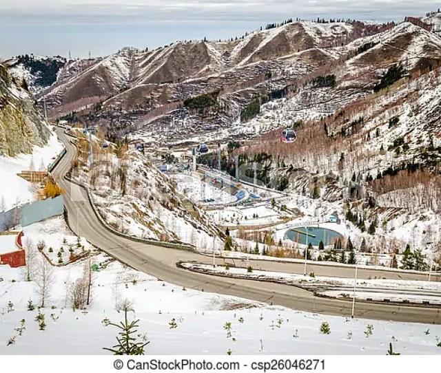 Medeu Rink In Almaty Csp26046271