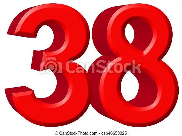 number 38 # 22