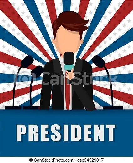 Presidents icon design. Presidents day concept with icon ...