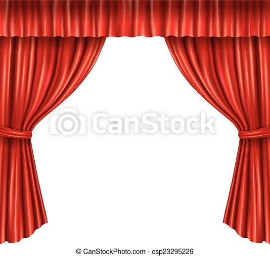 https www canstockphoto com theater curtains isolated 23295226 html