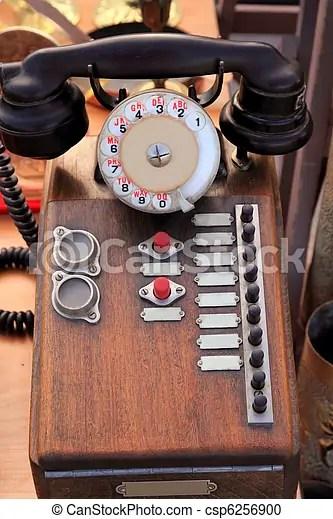 antiquite bois vendange pbx francais telephone