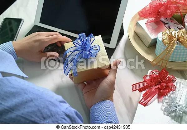 bureau amarrage don donne surprise livraison gift telephone