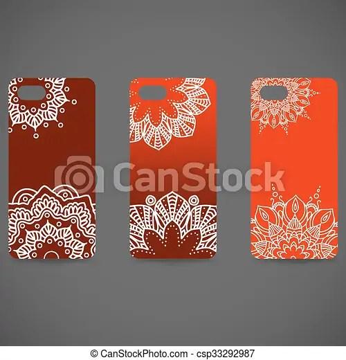 decoratif 10 ensemble islam dessine collection ethnique couverture illustration main