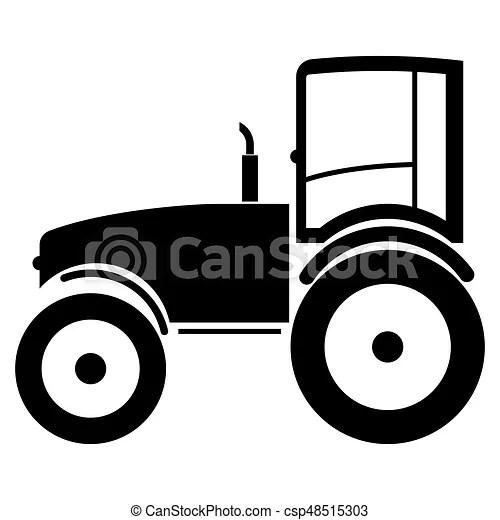 https www canstockphoto fr ic c3 b4ne tracteur noir couleur 48515303 html