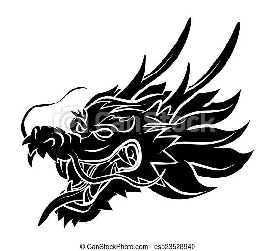 Tete Dragon Canstock