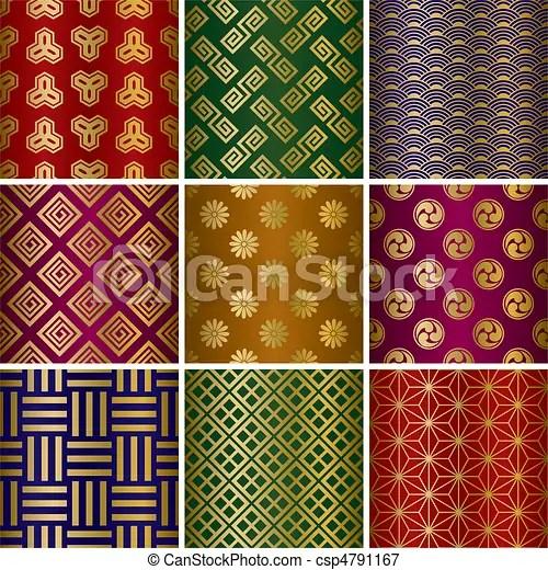 https www canstockphoto fr traditionnel motifs ensemble 4791167 html